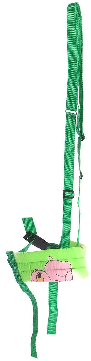 Фея Поводок детский цвет зеленый 5533_зеленый