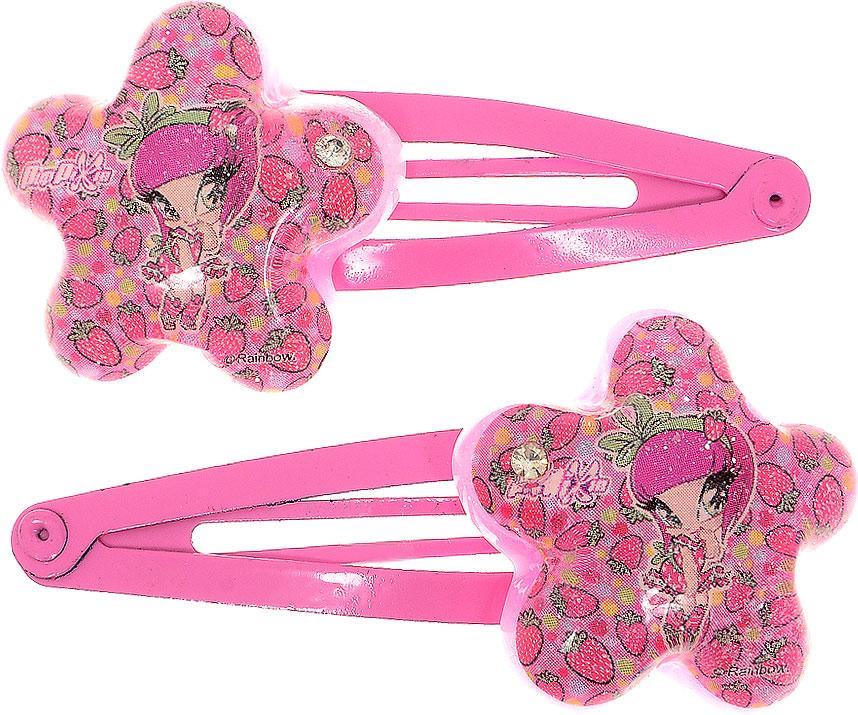 Заколка для волос для девочки PopPixie, цвет: розовый, 2 шт. 4131241312Заколка для волос PopPixie выполнена из металла и оформлена декоративным элементом. В комплект входят две заколки.