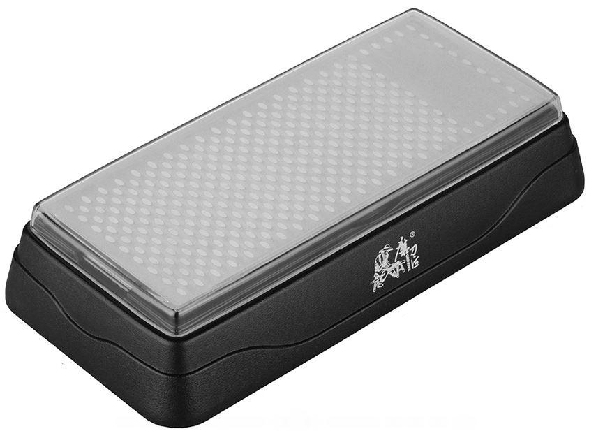 Точильный камень Ножемир Taidea, алмазный, двусторонний. T0831DT0831Dполное название: точильный камень алмазный двусторонний бренд: Taidea зернистость, грит: 360 ; 600 материал: пластик ABS размер, см: 18 х 9 х 3,6 масса, гр: 270 упаковка: картонная коробка