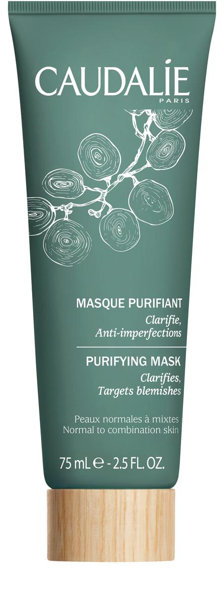 Caudalie Очищающая маска для нормальной и комбинированной кожи лица 75мл179Очищающая маска – идеальный партнёр жирной или комбинированной кожи с несовершенствами. Маска, тщательно дозированная абсорбирующими активными ингредиентами, позволяет регулировать деятельность кожи, глубоко очищает поры. Необыкновенно эффективная формула, натуральная на 94%, позволяет коже становиться нежной, чистой и избавляться от жирного блеска.