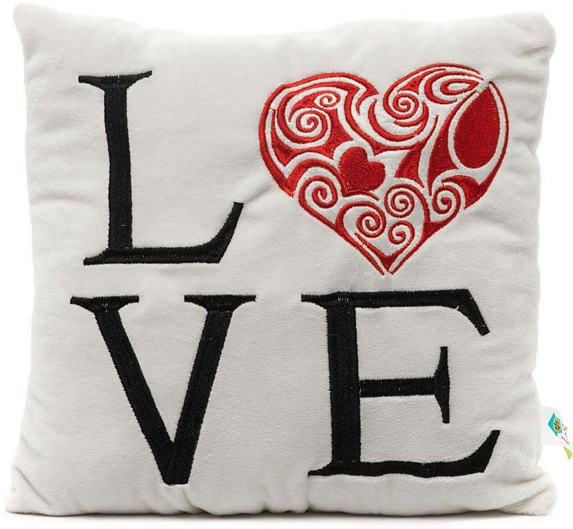 LAPA House Мягкая игрушка-подушка С любовью 30 см31449Мягкая игрушка-подушка LAPA House будет прекрасным подарком ко Дню всех влюбленных!