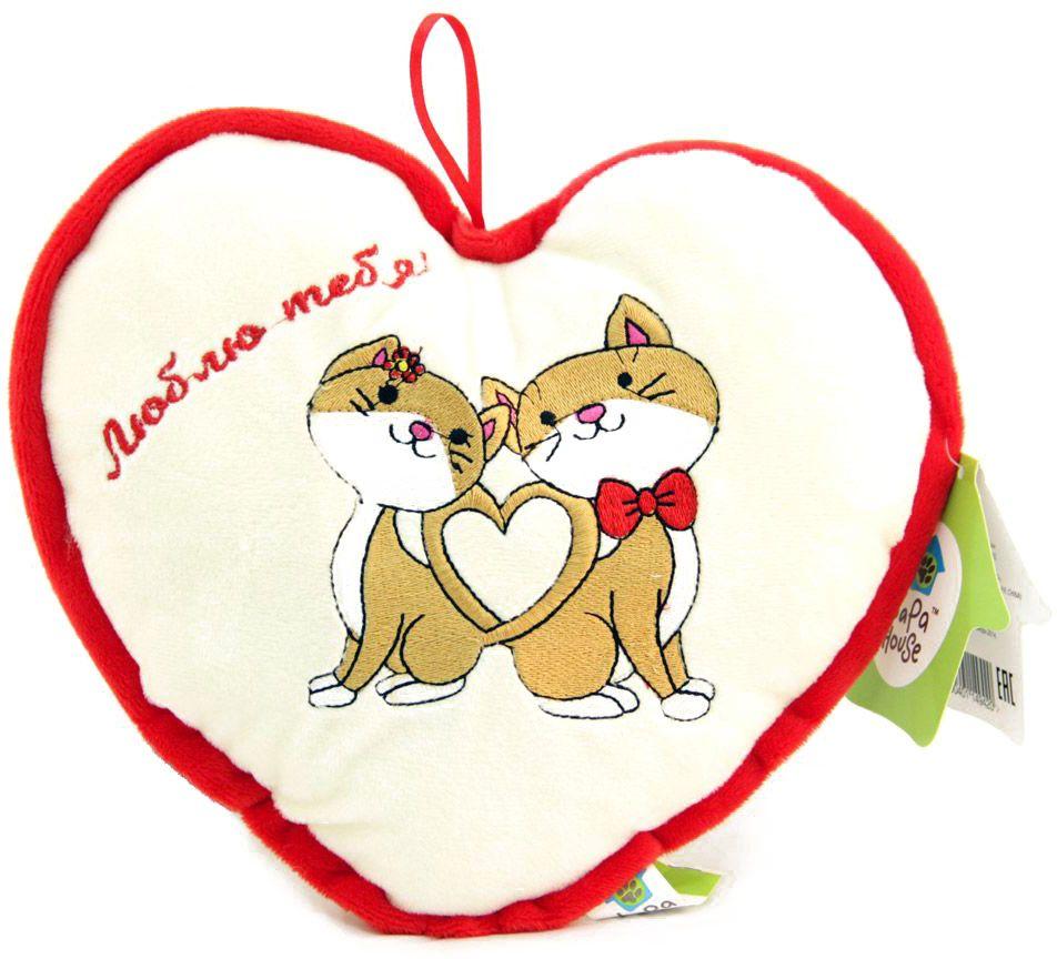 LAPA House Мягкая игрушка-подушка Люблю тебя 25 см31508Мягкая игрушка-подушка LAPA House будет прекрасным подарком ко Дню всех влюбленных!
