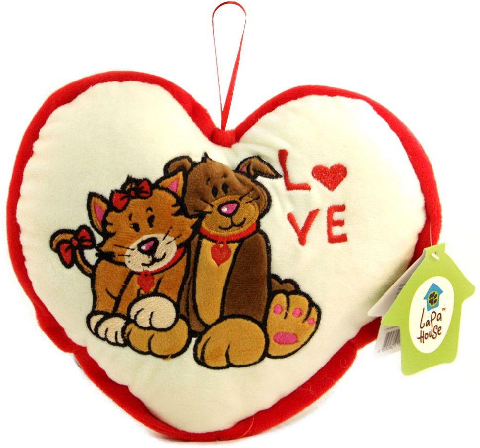 LAPA House Мягкая игрушка-подушка Сквозь все преграды 25 см31509Мягкая игрушка-подушка LAPA House будет прекрасным подарком ко Дню всех влюбленных!