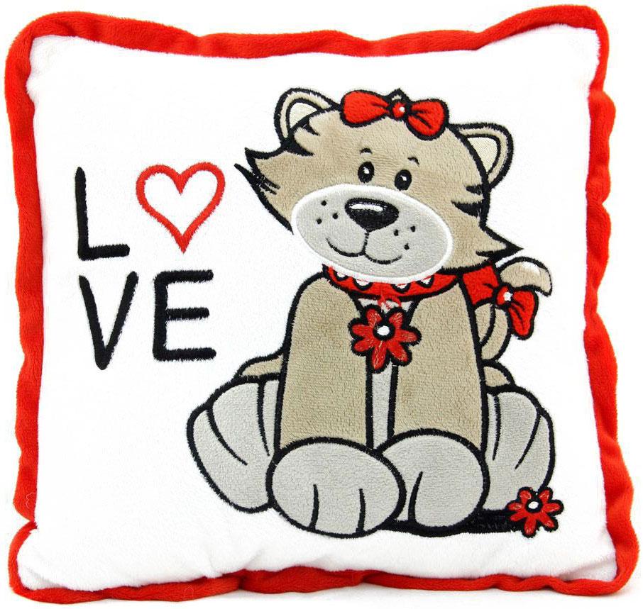 LAPA House Мягкая игрушка-подушка Люблю! 30 см31511Мягкая игрушка-подушка LAPA House будет прекрасным подарком ко Дню всех влюбленных!