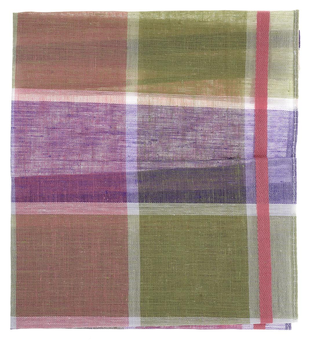 Платок носовой женский Zlata Korunka, цвет: фиолетовый, зеленый, розовый. 45471. Размер 27 см х 28 см45471_фиолетовый, зеленый, сиреневыйЖенский носовой платок Zlata Korunka, изготовленный из натурального хлопка, приятен в использовании и отлично впитывает влагу. Материал не садится и хорошо стирается. Модель оформлена принтом в клетку.