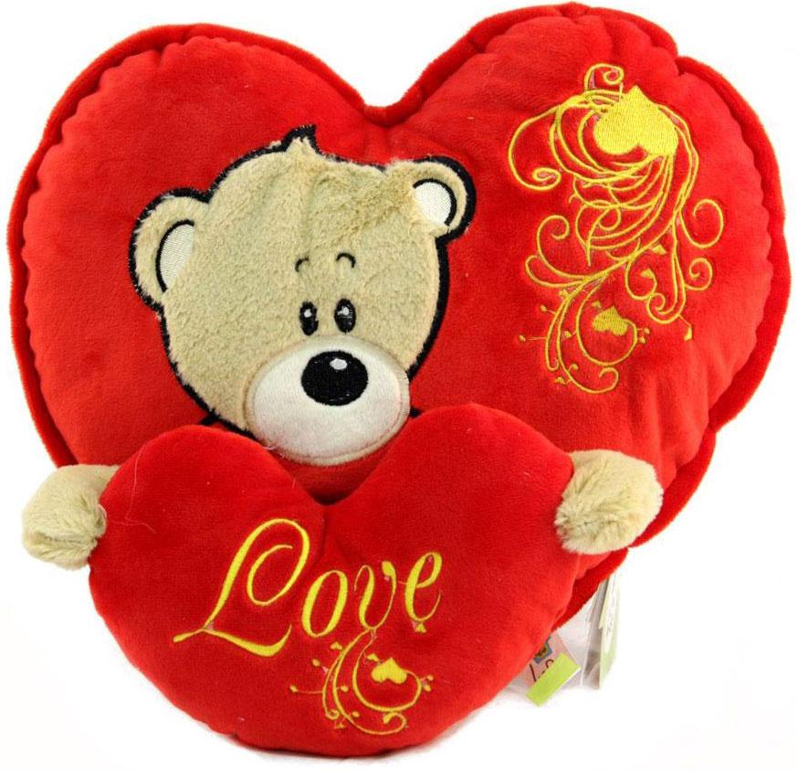 LAPA House Мягкая игрушка-подушка Мое сердце принадлежит тебе 30 см34228Мягкая игрушка-подушка LAPA House будет прекрасным подарком ко Дню всех влюбленных!