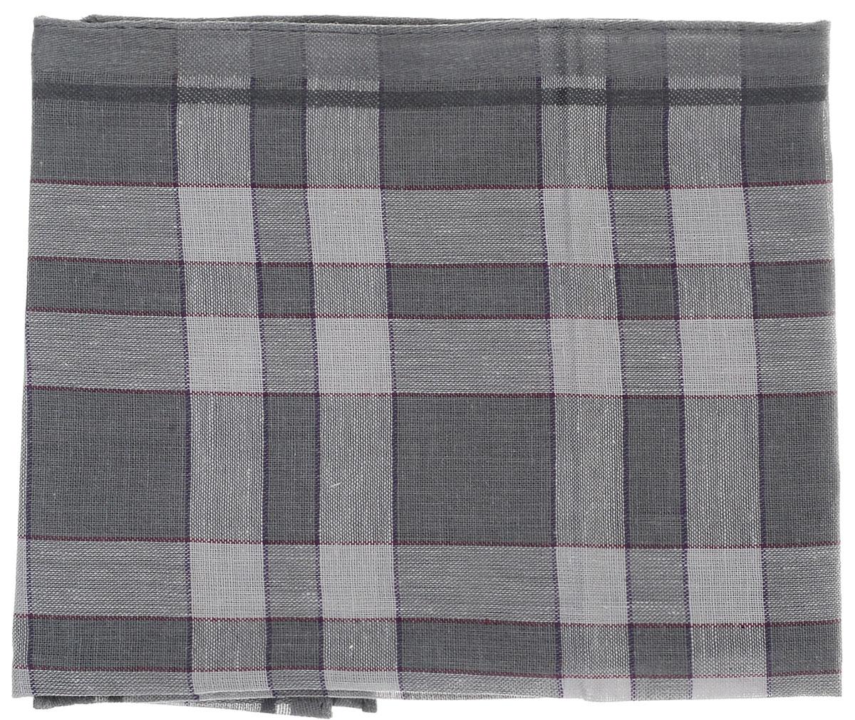 Платок носовой мужской Zlata Korunka, цвет: серый, светло-серый. 45495. Размер 37 см х 37 см45495_темно-серый, серыйМужской носовой платок Zlata Korunka, изготовленный из хлопка с добавлением полиэстера, приятен в использовании и хорошо стирается. Материал не садится и отлично впитывает влагу. Модель оформлена оригинальным принтом.