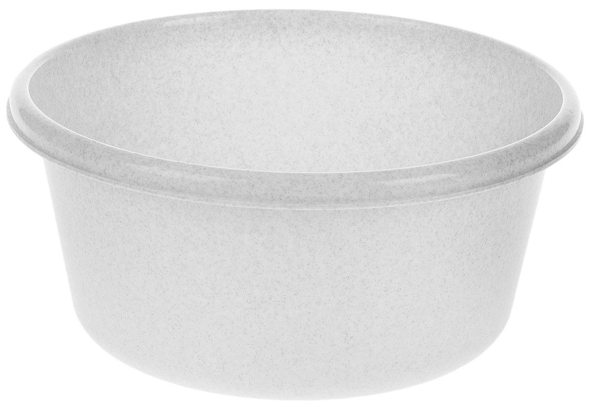 Таз Idea, круглый, цвет: мраморный, 14 лМ 2514Таз Idea выполнен из прочного пластика. Он предназначен для стирки и хранения разных вещей. Также в нем можно мыть фрукты. Такой таз пригодится в любом хозяйстве. Диаметр таза (по верхнему краю): 37 см. Высота стенки: 15 см.