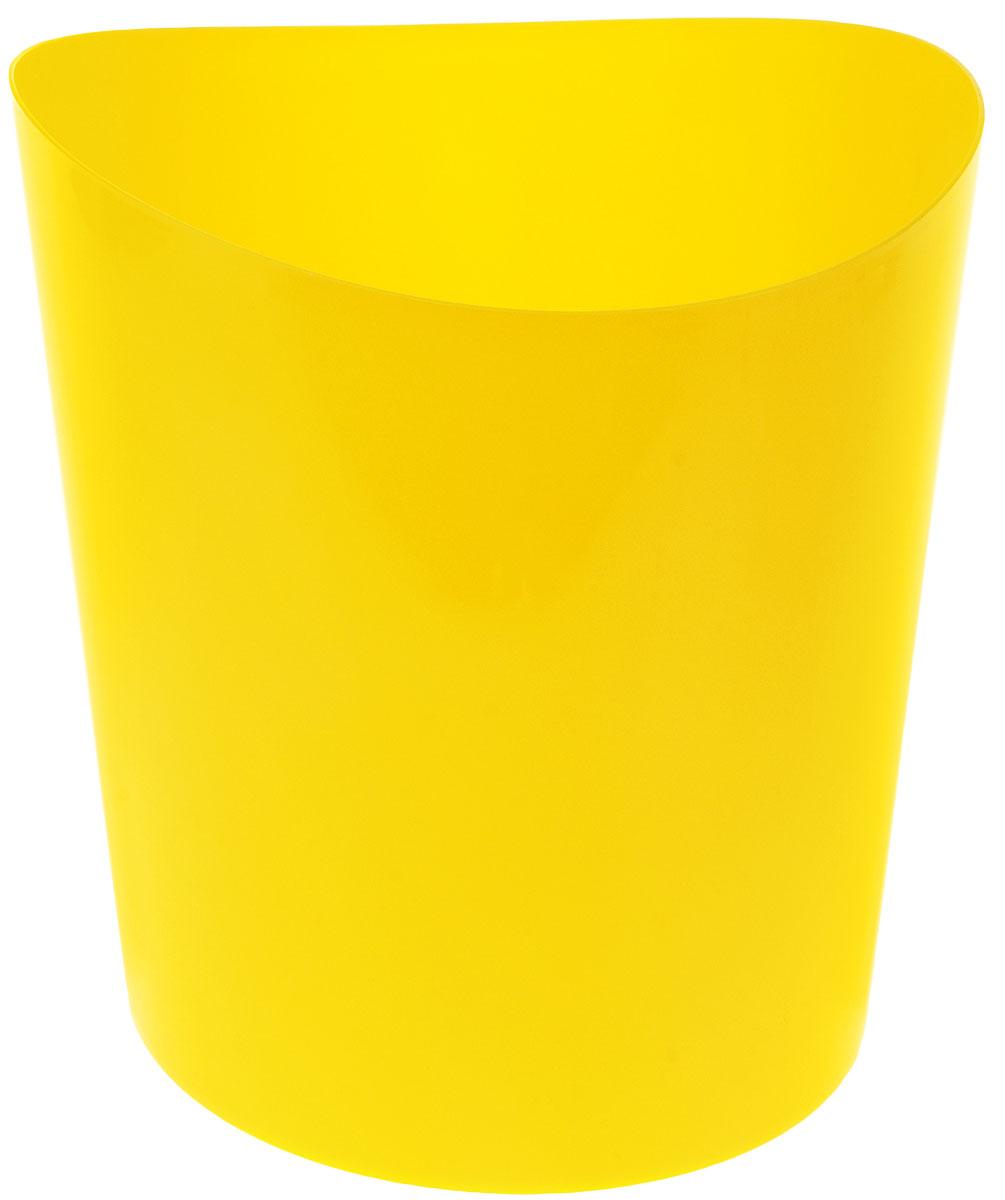 Корзина для бумаг Idea Модерн, цвет: желтый, 26 х 26 х 28 смМ 2492Корзина для бумаг Idea Модерн выполнена из высококачественного полипропилена и предназначена для сбора мелкого мусора и бумаг. Корзина имеет современный эргономичный дизайн. Удобная компактная корзина прекрасно впишется в интерьер гостиной, спальни, офиса или кабинета. Размер корзины: 26 х 26 х 28 см.