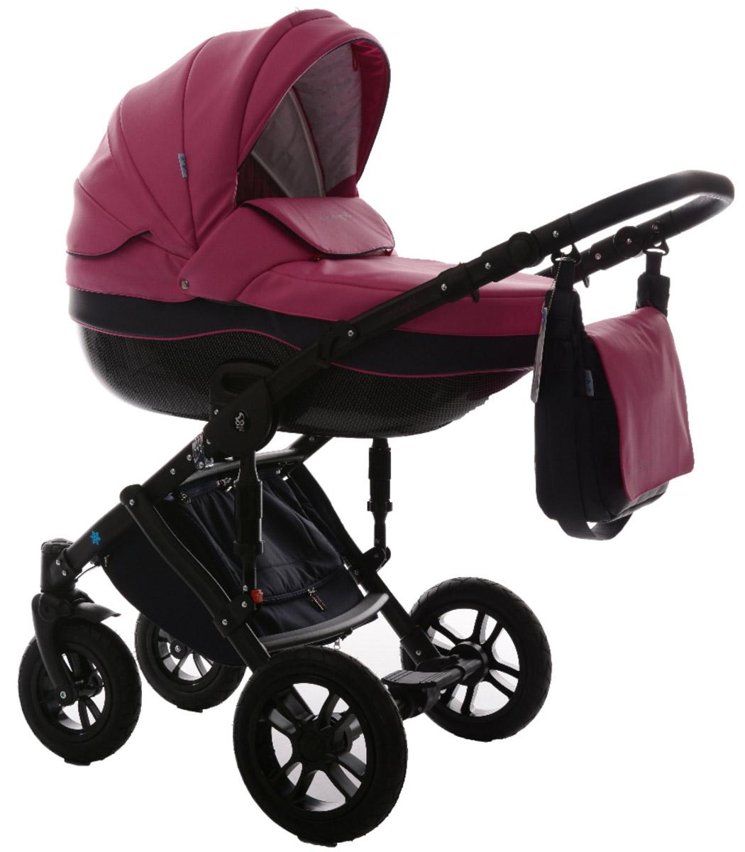 Noordline Коляска универсальная 2 в 1 Stephania №05 цвет розовый серыйNL-STP-05Noordline Stephania из эко-кожи - всесезонная коляска с поворотными колесами. Поставляется в комплектации 2 в 1, предназначена для детей с рождения до 3,5 лет (до 15 кг). Отличается внешним видом, длительным сроком службы, теплой люлькой, простотой в эксплуатации, быстрой трансформацией в прогулочный блок с мягким и удобным раскладывающимся креслом. Стильный внешний вид без потери комфорта для прогулок по городу и за его пределами Не продуваемый короб с высокими бортами и утепленный экологически чистым материалом, который легко снять и выстирать Разработка для суровых климатических условий Передняя пара поворотных колес может быстро менять направление движения благодаря возможности поворота вокруг своей оси Европейская сборка в Польше и немецкие материалы позиционируют коляску Noordline Stephania как продукт, предназначенный для эксплуатации в семье, планирующий постепенное рождение 2-3 детей Люлька: Большого размера люлька ...
