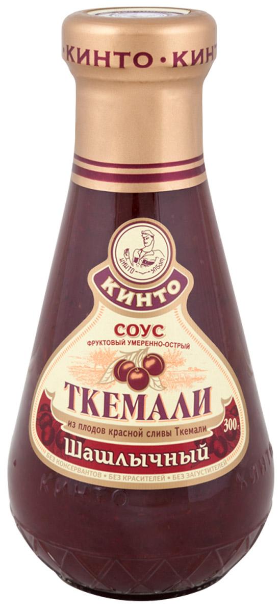 Кинто Ткемали шашлычный соус фруктовый, 300 г2515Фруктовый умеренно-острый соус Кинто Ткемали шашлычный изготовлен из красной зрелой сливы ткемали, имеет яркий вкус и аромат. Отлично гармонирует с блюдами, приготовленными на мангале и гриле. Не содержит ГМО, консервантов, загустителей и красителей. Соусы ткемали занимают одно из почетных мест в грузинской кухне и готовятся из различных видов слив, от зеленой до терна. Соусы ткемали Кинто удивят гурманов изысканными, натуральными и приготовленными по традиционным рецептам вкусами. Подобно первым лучам солнца, этот соус добавит каждому блюду свежести и изысканности.
