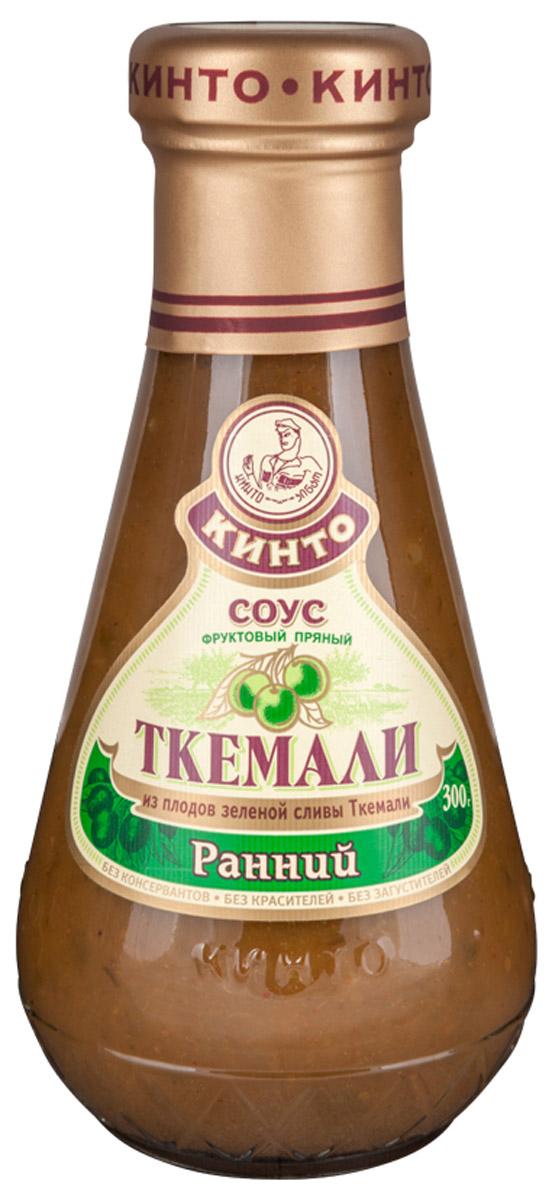 """Кинто """"Ткемали ранний"""" соус фруктовый, 300 г 2525"""