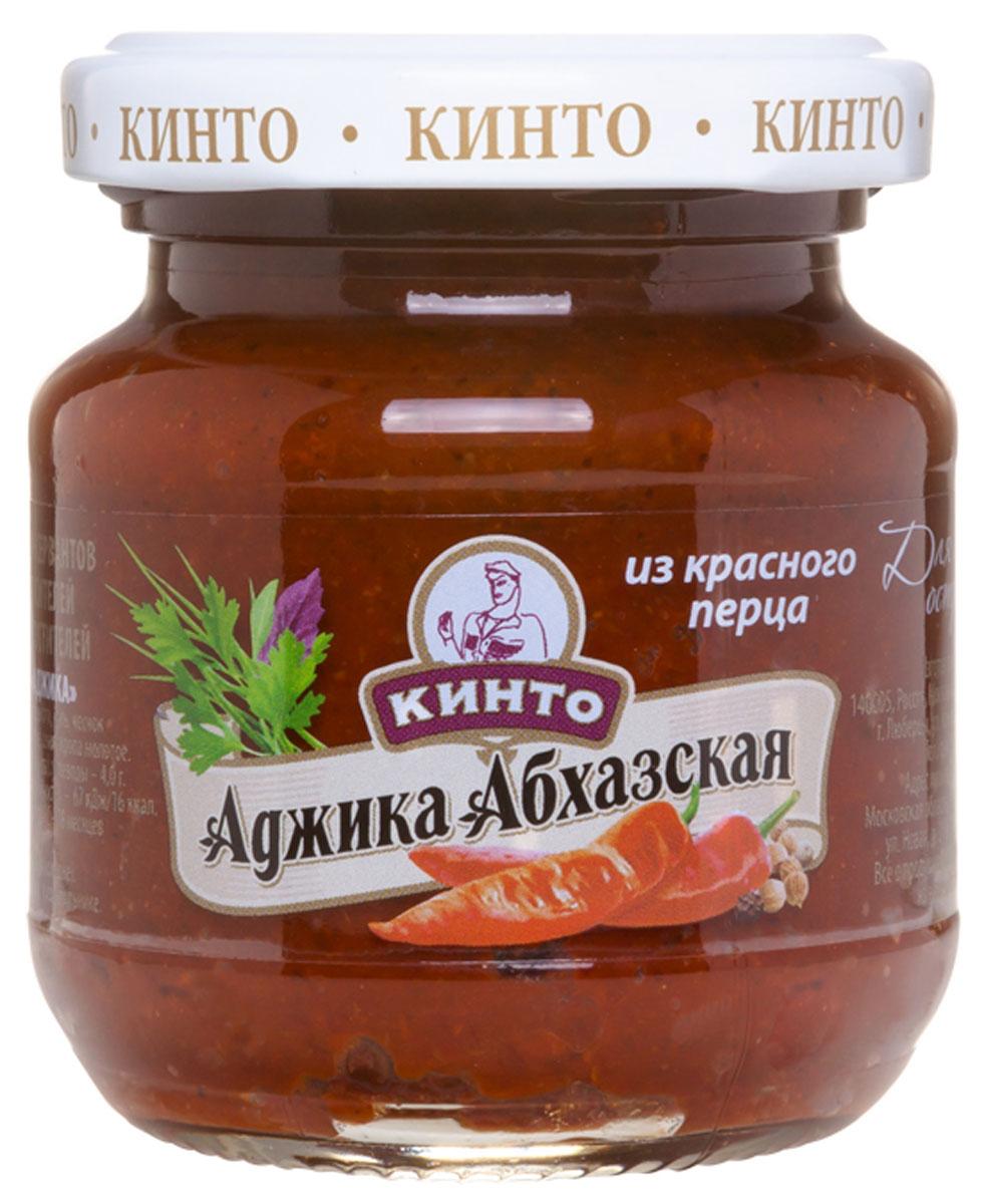 Кинто Аджика абхазская из красного перца соус, 130 г