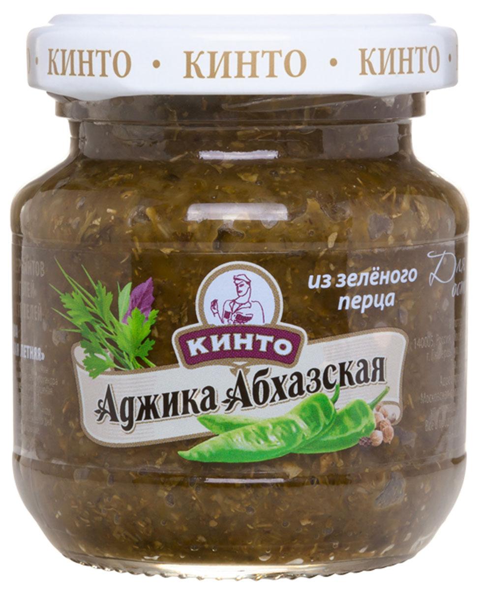"Кинто ""Аджика абхазская из зеленого перца"" соус, 130 г 3312"