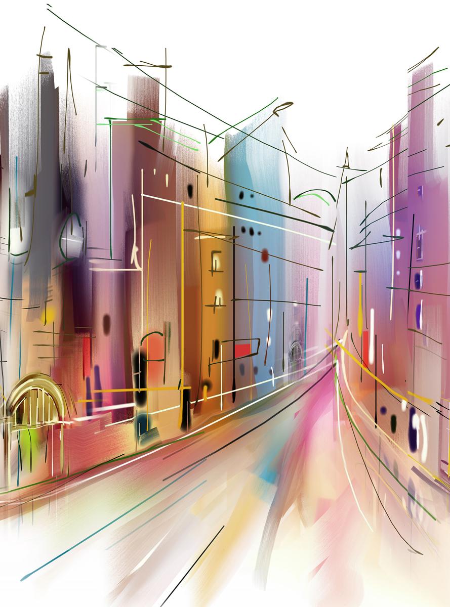 "Фотообои Barton Wallpapers ""Города"", 200 x 270 см. U09702"