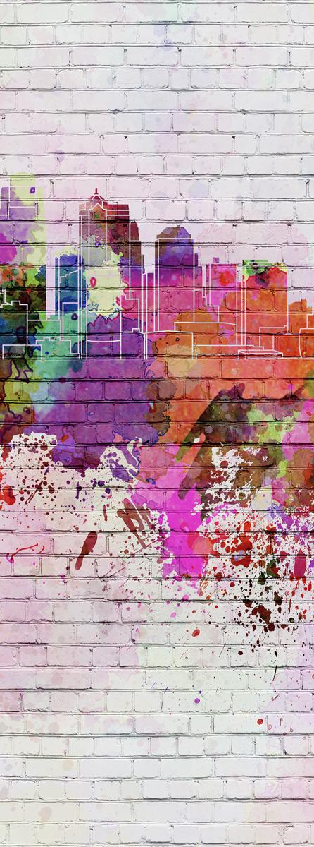 "Фотообои Barton Wallpapers ""Города"", 100 x 270 см. U10401"