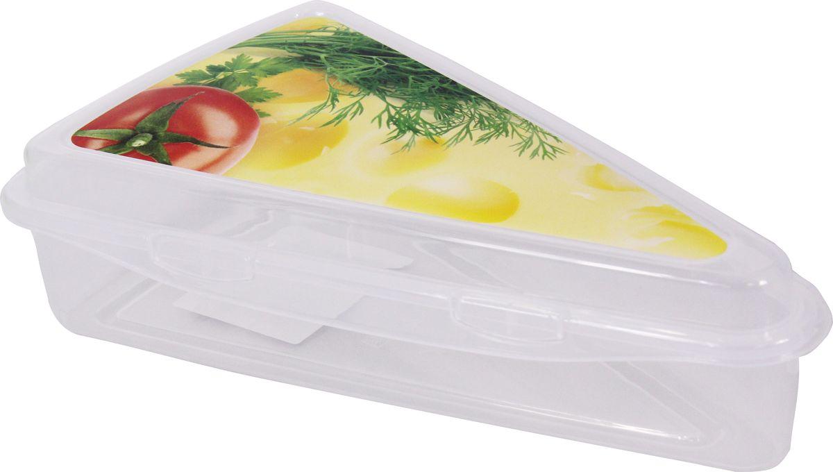 Контейнер для сыра Idea, цвет: прозрачный, 21 х 13 х 5 смМ 1208