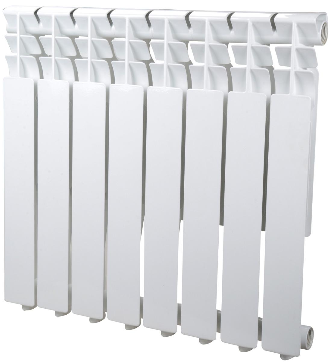 Радиатор Sira Omega AS 500 - 8 секций алюминиевый тонкий (CFOM05000875)
