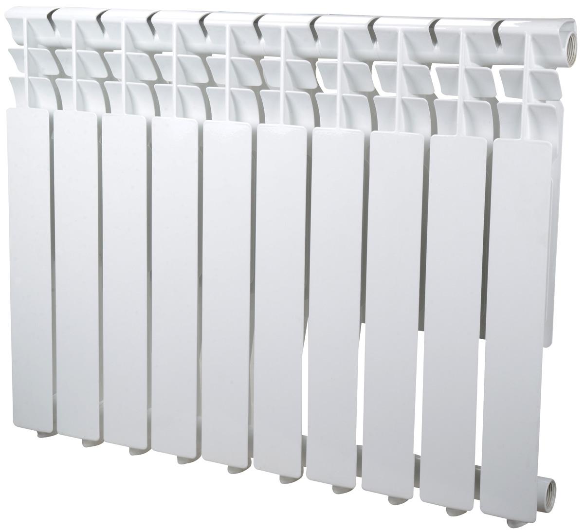 Радиатор Sira Omega AS 500 - 10 секций алюминиевый тонкий (CFOM05001075)