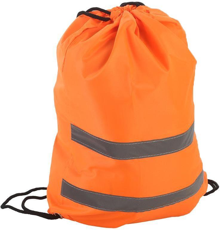 Мешок сигнальный для обуви, 32х42 см, цвет: оранжевый. 333-204339557Размеры: 32 х 42 см
