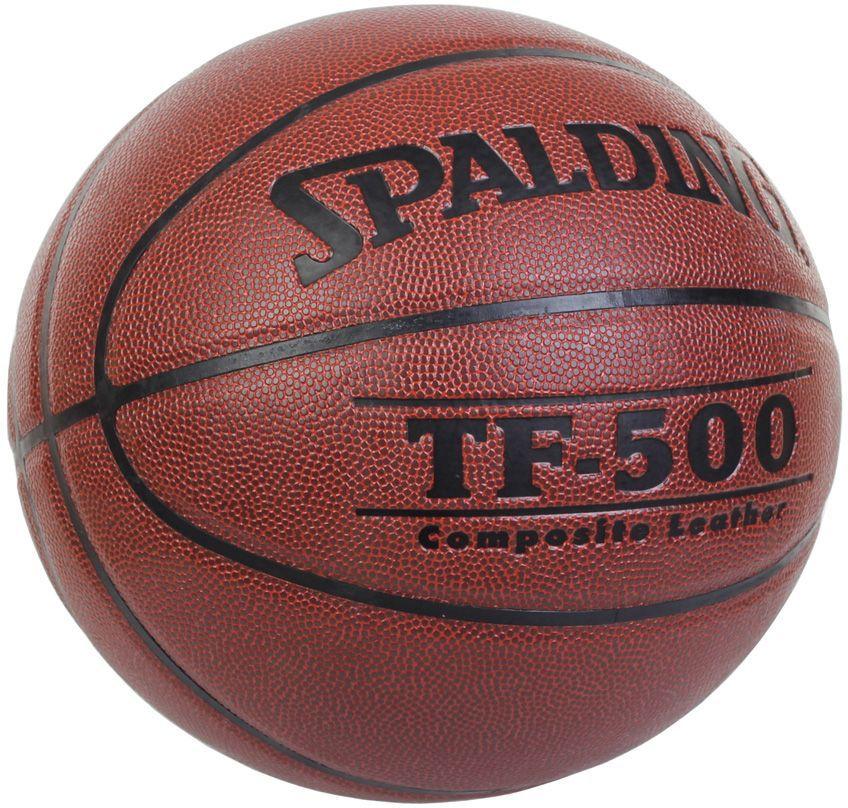 Мяч баскетбольный Spalding TF-500 Composite. 64513 (64453)Sz692812Материал верха: композитная кожа Камера: бутил Размер: 6 Количество панелей: 8 Окружность: 72-74 см Армирование нейлоновой нитью: + Рекомендации: для игры на улице и в помещении для тренирующихся спортсменов и проведения соревнований среднего уровня Вес: 500-540 г