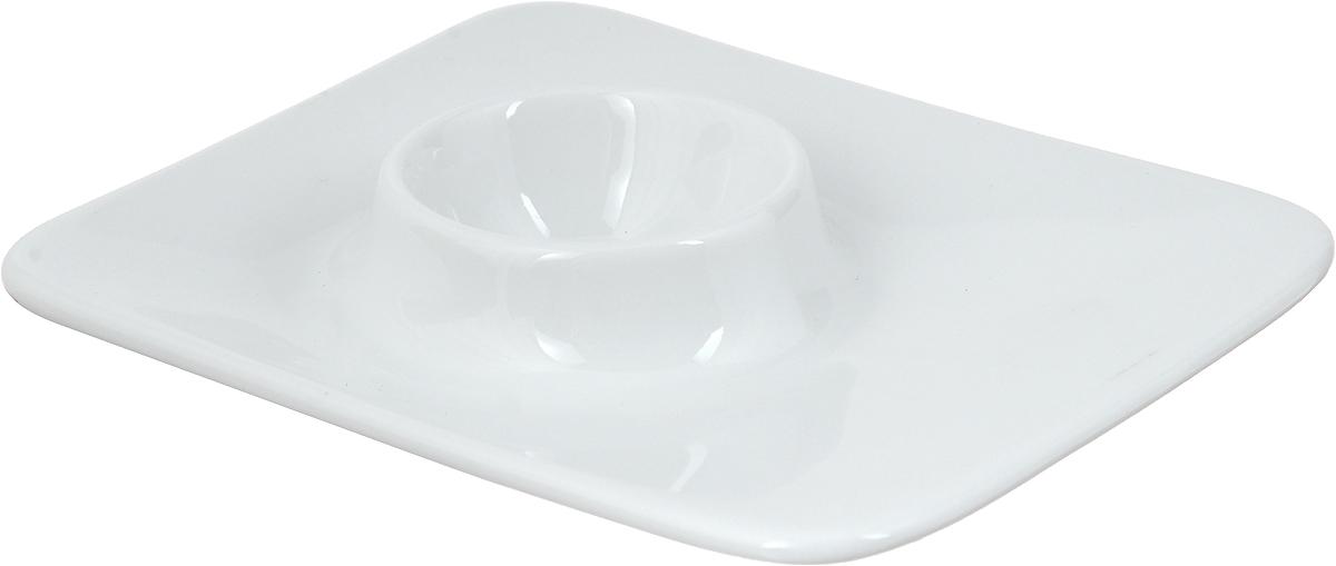 Подставка для яйца Tescoma Gustito, 12 x 10 см386220Подставка для яйца Tescoma Gustito выполнена из высококачественного фарфора. Изделие служит подставкой для яйца и может стать красивым пасхальным подарком для ваших друзей и близких. А также идеально подходит для сервировки любого стола. Можно использовать в микроволновой печи (до +200°С), холодильнике (до -18°С) и мыть в посудомоечной машине. Размер подставки: 12 х 10 см. Высота подставки: 2,5 см.