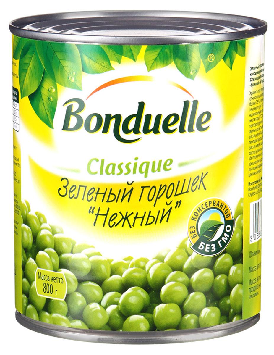 "Bonduelle зеленый горошек ""Нежный"", 800 г 651"