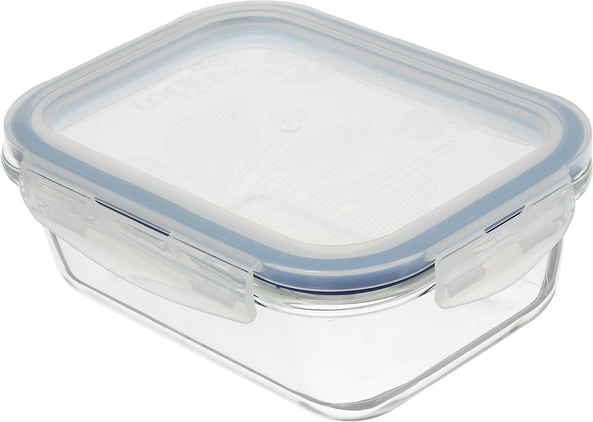 Контейнер пищевой Lock&Lock Glass, 630 млLLG428Контейнер Lock&Lock Glass выполнен из боросиликатного стекла, которое выдерживает сильное нагревание (до +400°С) и резкое охлаждение. Усиленная ударопрочность (при механических повреждениях стекло не разлетается на множество осколков и не имеет острых краев), стойкость к деформации и окраске. Герметичная пластиковая крышка снабжена уплотнительной силиконовой прокладкой и надежно закрывается с помощью четырех защелок. Подходит для мытья в посудомоечной машине, хранения в холодильных и морозильных камерах, использования в микроволновых печах.