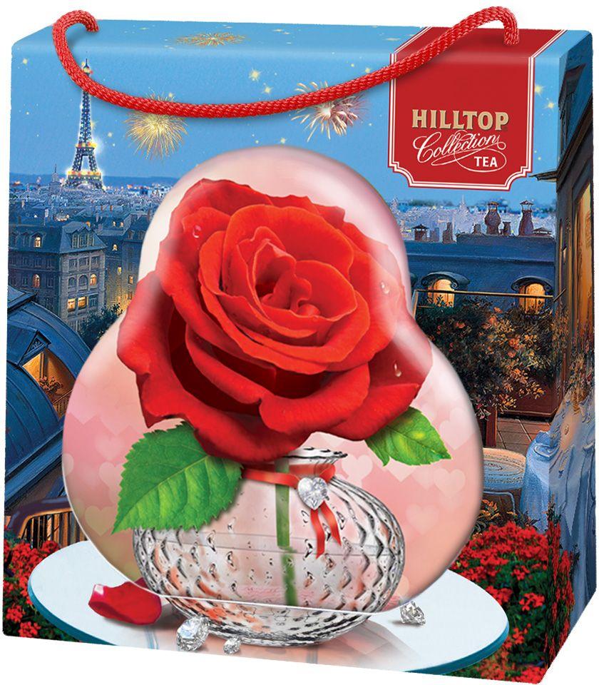 Hilltop Роза черный листовой чай Королевское золото, 50 г4607099307933Чай «Королевское золото» - крупнолистовой терпкий черный чай стандарта Пеко с лучших плантаций острова Цейлон.