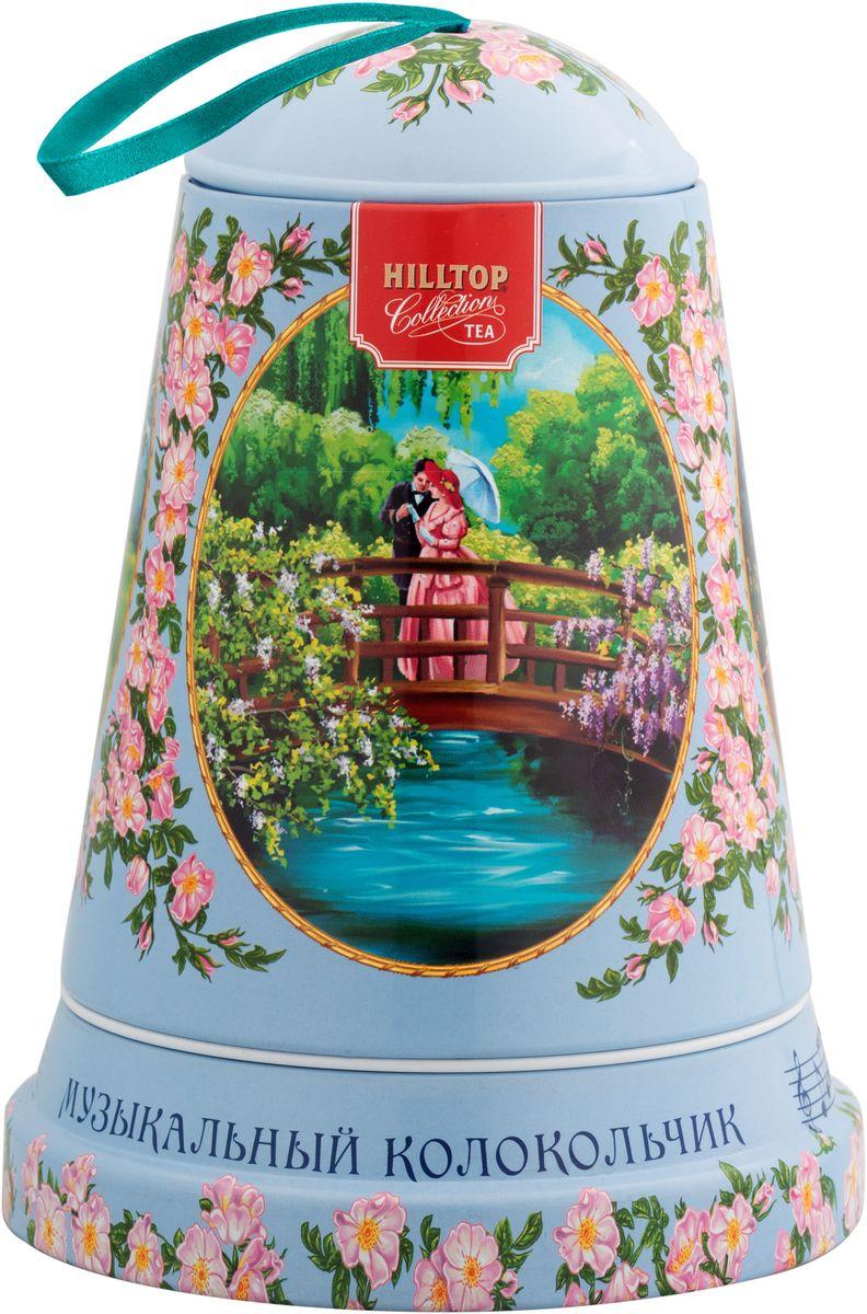 Hilltop Музыка любви черный листовой чай Подарок Цейлона в музыкальном колокольчике, 100 г4607099307964Чай «Подарок Цейлона» - крупнолистовой цейлонский черный чай с глубоким, насыщенным вкусом.