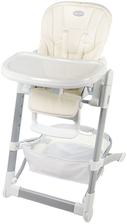 Sweet Baby Стульчик для кормления Triumph Carta339056Характеристики стульчика для кормления Sweet Baby Triumph Carta: - Компактное сложение стула; 2 колеса; - Стул стоит без опоры; - Чехол из экокожи; - Пятиточечные ремни безопасности; - Анатомический разделитель ножек; - 5 уровней высоты сидения стула; - Спинка: 4 уровня наклона, горизонтальное положение; - Подножка: 3 уровня наклона, горизонтальное положение, 3 позиции длины; - Съемный поднос комплектуется защитной накладкой, устанавливается в 3 положениях; - Корзина для игрушек; - Вес стульчика: 12 кг; - Размер стульчика: 76 см x 55 см x 108 см.
