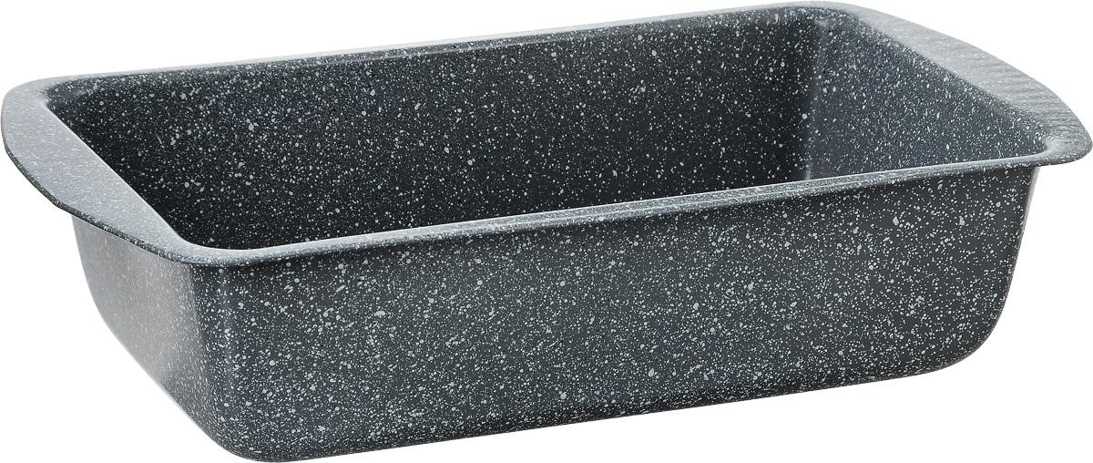 Форма для кекса Termico Granito, прямоугольная, с антипригарным покрытием, 28 х 14,7 х 7 см220437Форма для кекса Termico Granito выполнена из углеродистой стали с внутренним антипригарным покрытием. Углеродистая сталь - это прочный, легкий и долговечный материал, который прекрасно проводит тепло, помогая выпечке хорошо подходить и равномерно пропекаться, и гарантирует всегда великолепный результат. Слой антипригарного покрытия полностью устраняет пригорание кексов и их прилипание к стенкам и дну. Выпечка легко извлекается из формы. Экологически безопасное антипригарное покрытие не содержит PFOA, свинца и кадмия. Форма выдерживает температуру до 250°C. Изделие нельзя мыть в посудомоечной машине, нельзя использовать в микроволновой печи. Использовать только пластиковые аксессуары. Внутренний размер формы: 13,3 х 23,5 х 7 см. Размер формы с учетом ручек: 28 х 14,7 х 7 см.