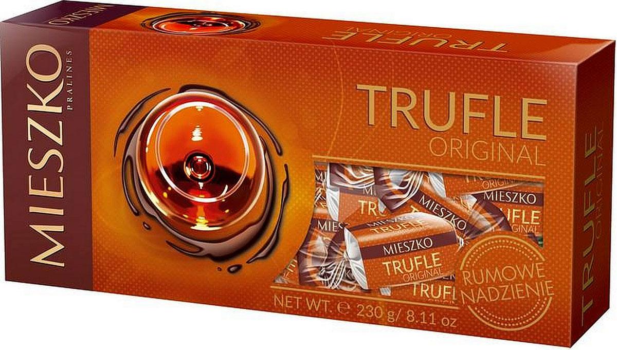 Mieszko Трюфель с ромом набор шоколадных конфет, 230 г 5900353642665