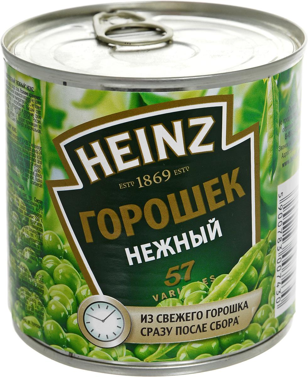 Heinz горошек нежный, 390 г