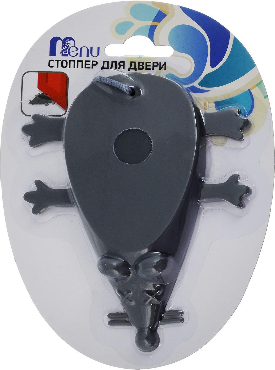 Стоппер для двери Menu Мышь, цвет: серый, длина 12 смSTP-02_сераяСтоппер для двери Menu Мышь, изготовленный из силикона и полиэстера, выполнен в форме мыши. Стоппер поможет вам защитить двери и стены от различных повреждений, сколов и царапин. Его также можно использовать для фиксации двери в открытом положении. Изделие не требует специальной установки и впишется в любой интерьер. Мыть вручную в теплой воде с использованием щадящих моющих средств.