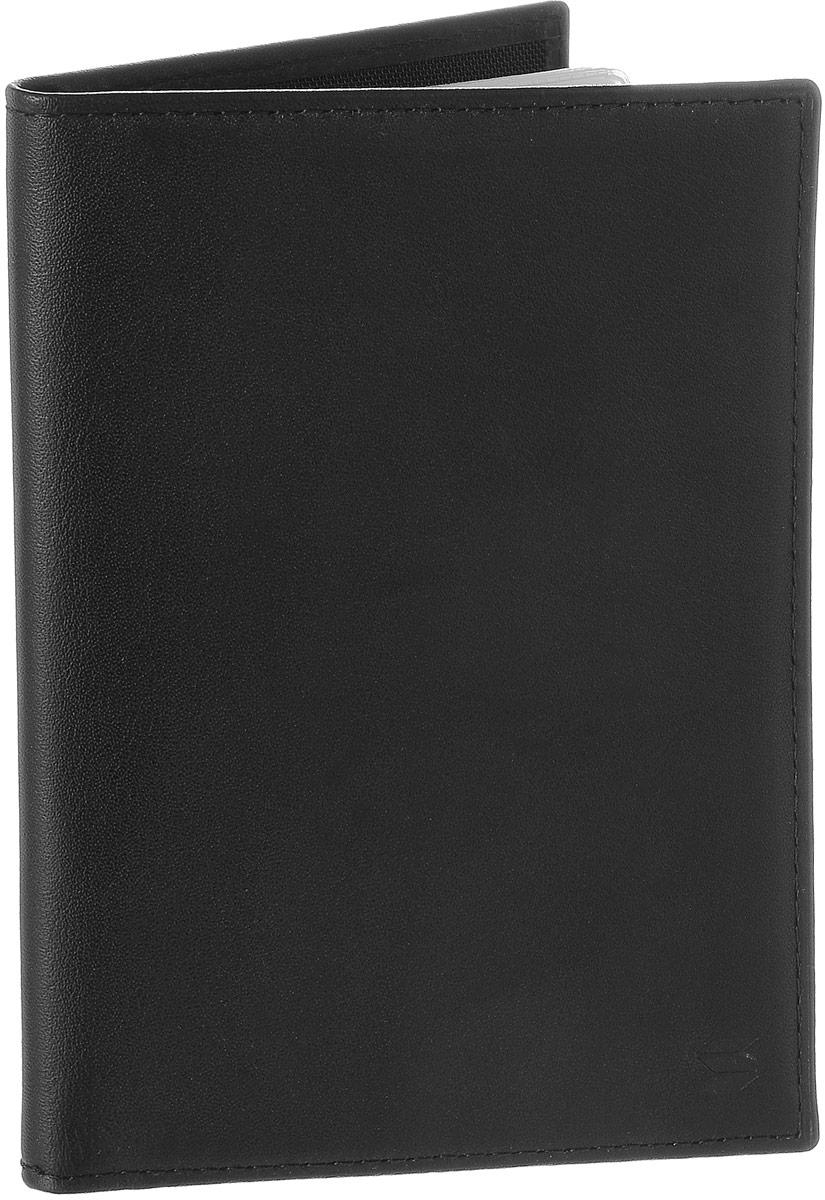 Обложка для автодокументов Soltan, цвет: черный. 037 01 01037 01 01Обложка для автодокументов Soltan выполнена из натуральной кожи. Изделие раскладывается пополам. Обложка содержит съемный блок из шести прозрачных файлов из мягкого пластика, один из которых формата А5, два боковых кармана и четыре прорезных кармана для пластиковых карт. Изделие упаковано в фирменную коробку. Модная обложка для автодокументов поможет сохранить их внешний вид и защитить от повреждений.