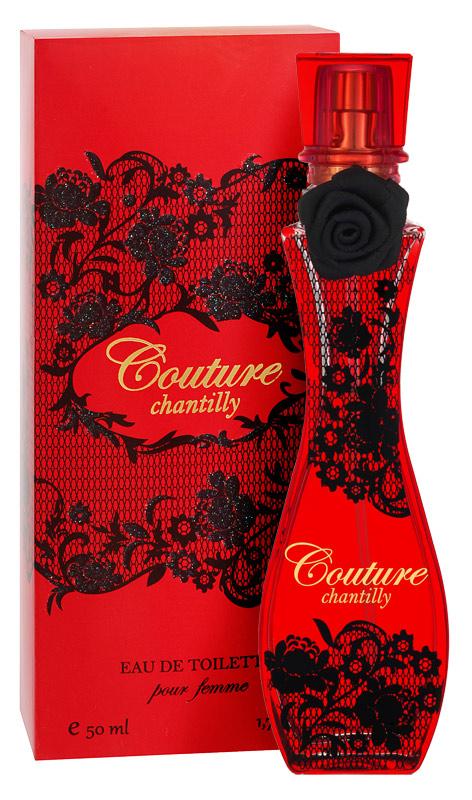 Apple Parfums Туалетная вода Couture Chantilly женкая 50мл41Обворожительный, изысканный и нежный аромат Couture создан для стильных, утонченных, творческих натур, которым как воздух необходима внутренняя гармония и вдохновение для успешной реализации свежих идей. Направление аромата: цветочный Начальные ноты: имбирь, мандарин, бергамот, кардамон Ноты «сердца»: лист фиалки, лилия, жасмин, роза Базовые ноты: мускус, дубовый мох, дерево