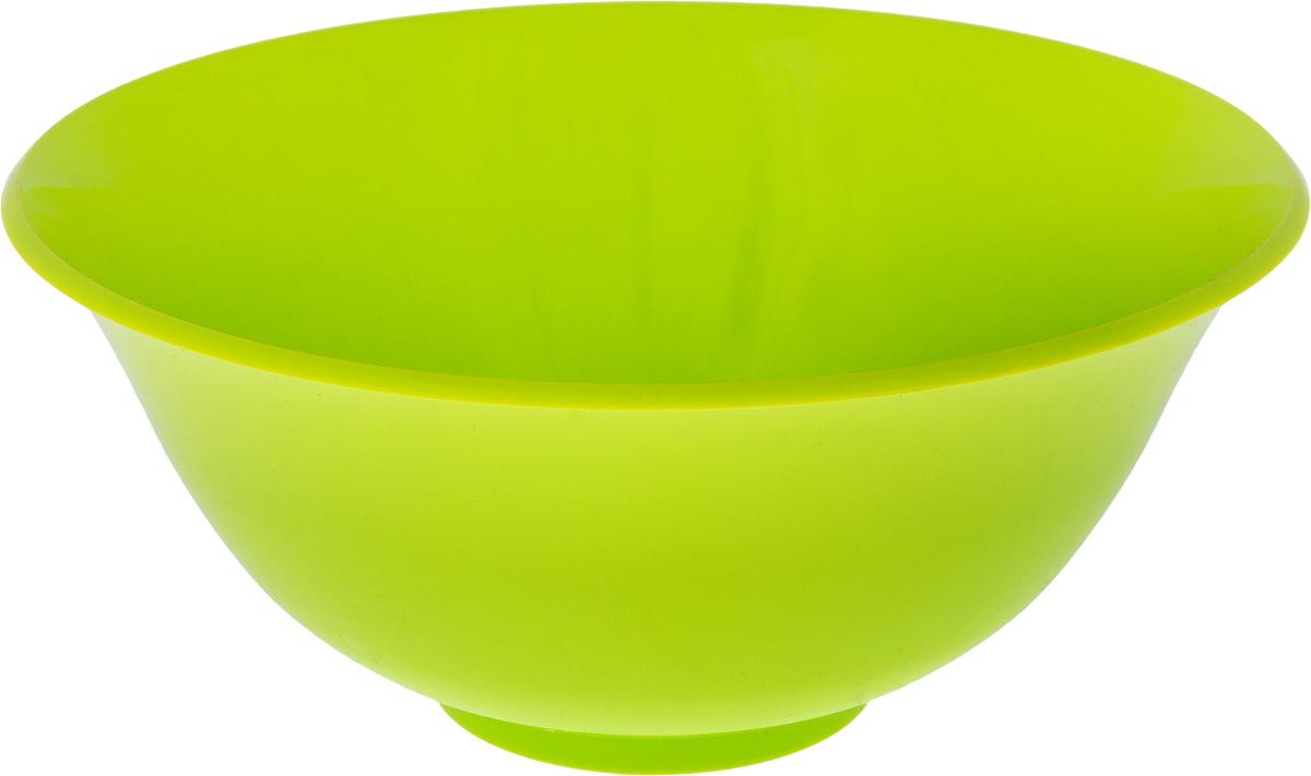 Салатник Idea, цвет: салатовый, 1,5 лМ 1341_салатовыйКруглый салатник Idea изготовлен из высококачественного пищевого полипропилена (пластика). Изделие предназначено для сервировки салатов, закусок и других блюд. Поверхность салатника гладкая и легко чистится. Такой салатник пригодится в любом хозяйстве. Объем: 1,5 л. Диаметр салатника (по-верхнему краю): 20 см. Высота салатника: 8,5 см.