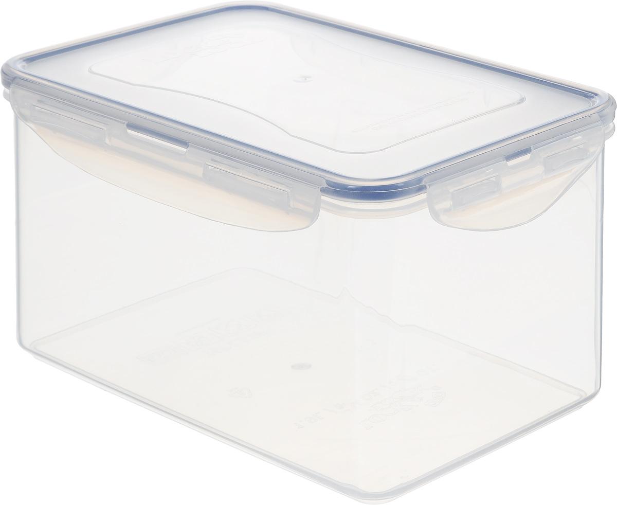 Контейнер пищевой Lock&Lock Classics, 1,9 лHPL818Контейнер Lock&Lock Classics изготовлен из высококачественного пластика, который не содержит Бисфенол-А, не выделяет вредных веществ. Герметичная пластиковая крышка снабжена уплотнительной резинкой, надежно закрывается с помощью четырех защелок. Контейнер с абсолютной непроницаемостью воды, воздуха и любых запахов. Обеспечивает длительное сохранение свежести продуктов. Подходит для мытья в посудомоечной машине, хранения в холодильных и морозильных камерах, использования в микроволновых печах.