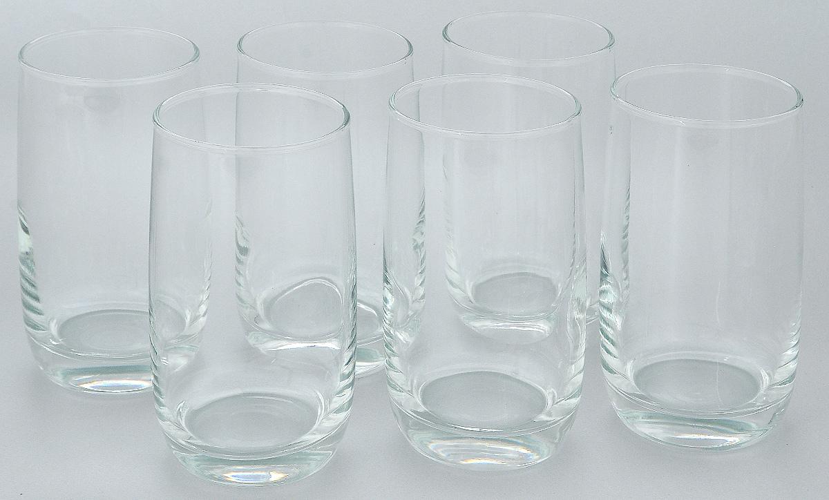 Набор стаканов Luminarc Vigne, 330 мл, 6 штC5107Набор Luminarc Vigne состоит из 6 высоких стаканов, выполненных из высококачественного стекла. Изделия подходят для сока, воды, лимонада и других напитков. Такой набор станет прекрасным дополнением сервировки стола, подойдет для ежедневного использования и для торжественных случаев. Можно мыть в посудомоечной машине. Объем стакана: 330 мл. Диаметр стакана: 6,2 см. Высота стакана: 12,5 см.