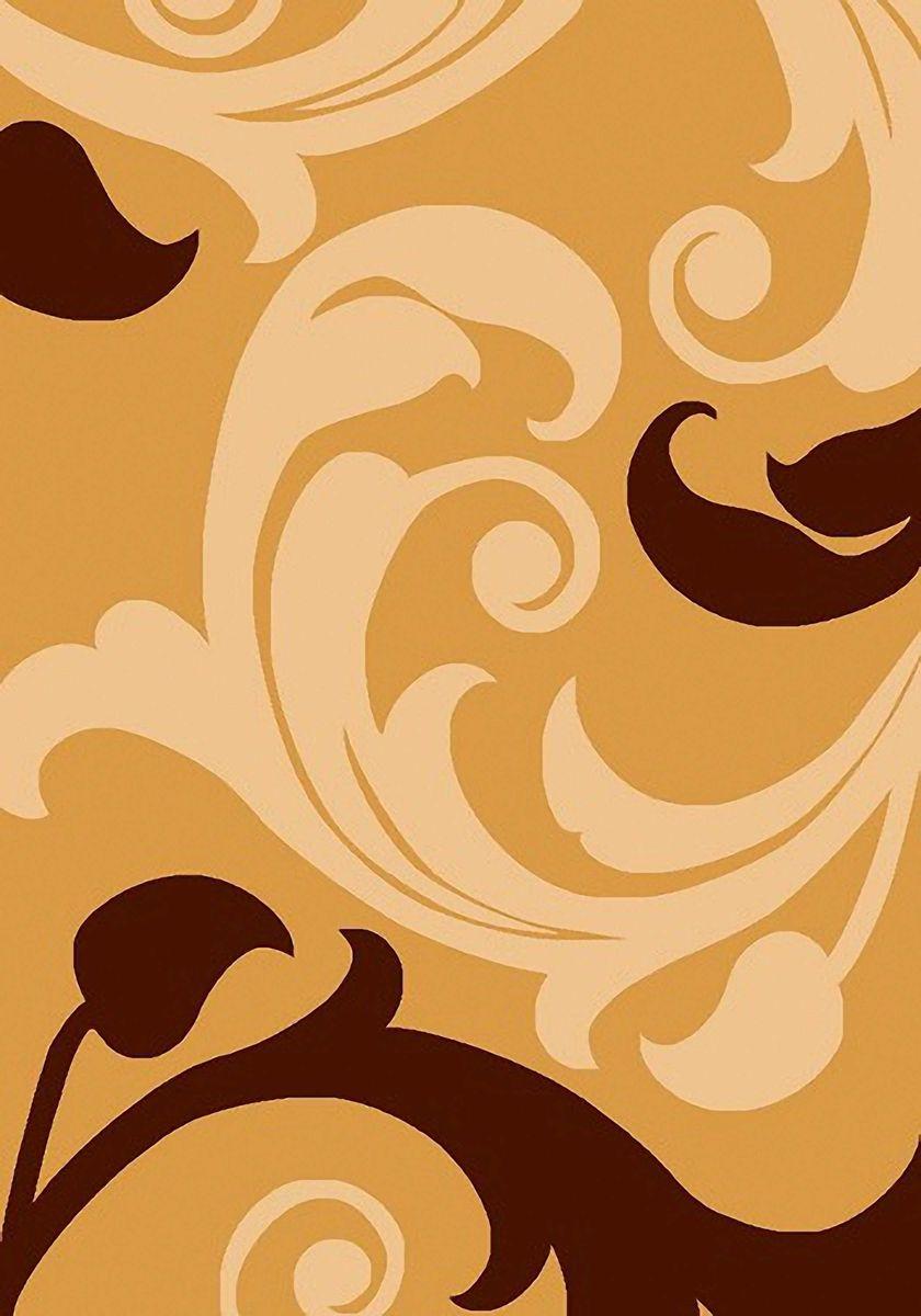 Ковер Mutas Carpet Супер Панда, цвет: светло-коричневый, 80 х 150 см. 203420130212173549203420130212173549Ворс 100% полипропилен фризе, ручная стрижка
