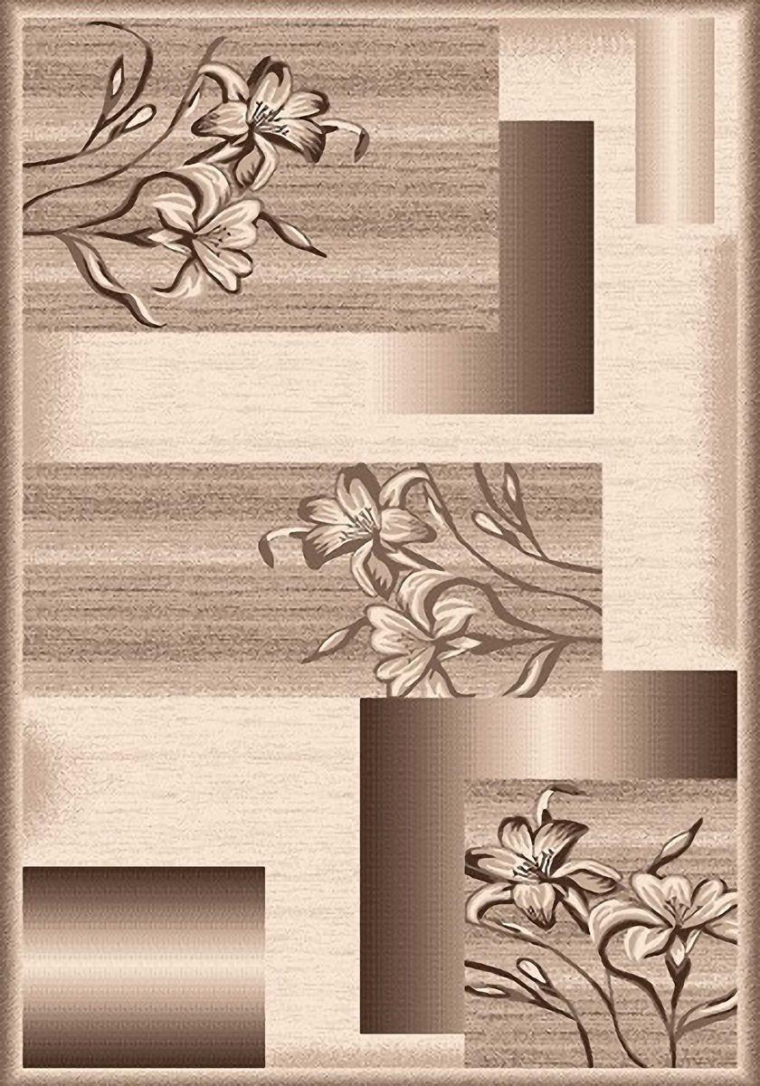 Ковер Mutas Carpet Мега, цвет: бежевый, 60 х 110 см. 203420130212179144203420130212179144Ворс 100% полипропилен хит-сет