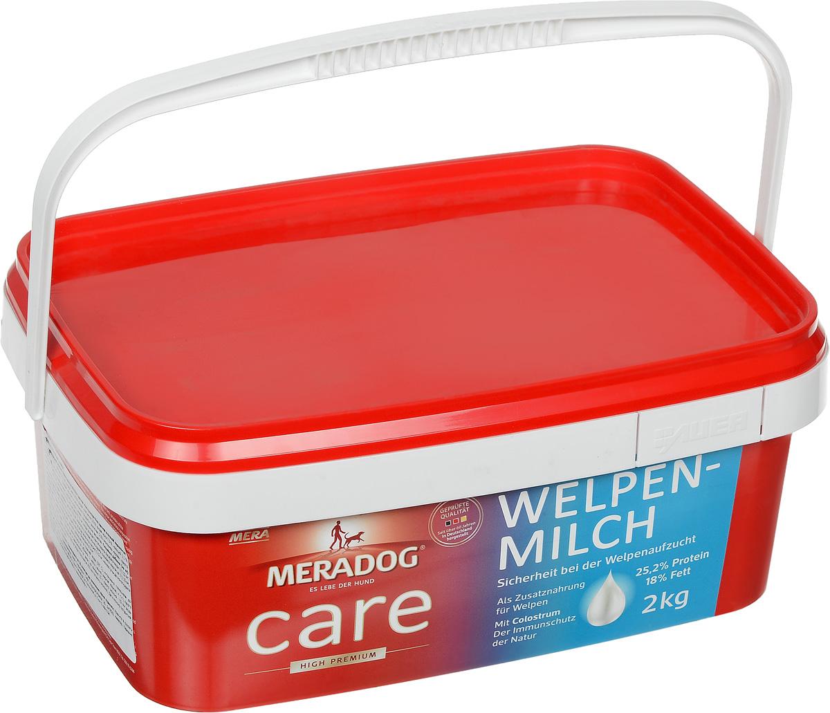 Молоко сухое для щенков Meradog Welpenmilch, 2 кг55030Молоко для щенков Meradog Welpenmilch - это высококачественный прикорм для щенков. Благодаря добавлению колострума их иммунитет будет под надежной защитой. Изделие богато маслами, жирами, злаками и минеральными веществами. Meradog Welpenmilch – это лучшая замена материнского молока для собак. Товар сертифицирован.