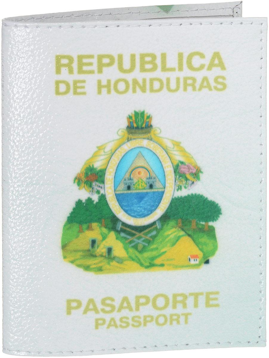 Обложка на паспорт Эврика Гондурас, цвет: белый, желтый, зеленый. 9424294242Обложка для паспорта от Evruka - оригинальный и стильный аксессуар, который придется по душе истинным модникам и поклонникам интересного и необычного дизайна. Качественная обложка выполнена из легкого и прочного ПВХ, который надежно защищает важные документы от пыли и влаги. Рисунок нанесён специальным образом и защищён от стирания. Изделие раскладывается пополам. Внутри размещены два накладных кармашка из прозрачного ПВХ. Простая, но в то же время стильная обложка для паспорта определенно выделит своего обладателя из толпы и непременно поднимет настроение. А яркий современный дизайн, который является основной фишкой данной модели, будет радовать глаз.