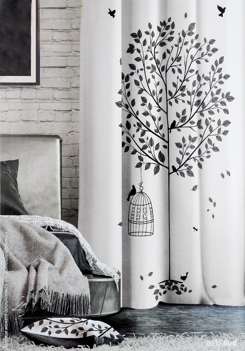 Штора Волшебная ночь Sun Flower, на ленте, цвет: белый, темно-серый, высота 270 см. 197775197775_белый, деревоШторы коллекции Волшебная ночь - это готовое решение для вашего интерьера, гарантирующее красоту, удобство и индивидуальный стиль! Штора изготовлена из мягкой, приятной на ощупь ткани - сатен, которая обеспечивает частичное затемнение и легко драпируется. Длина шторы регулируется с помощью клеевой паутинки (в комплекте). Изделие крепится на вшитую шторную ленту: на крючки или путем продевания на карниз. Высота шторы: 270 см. Ширина шторы: 150 см.