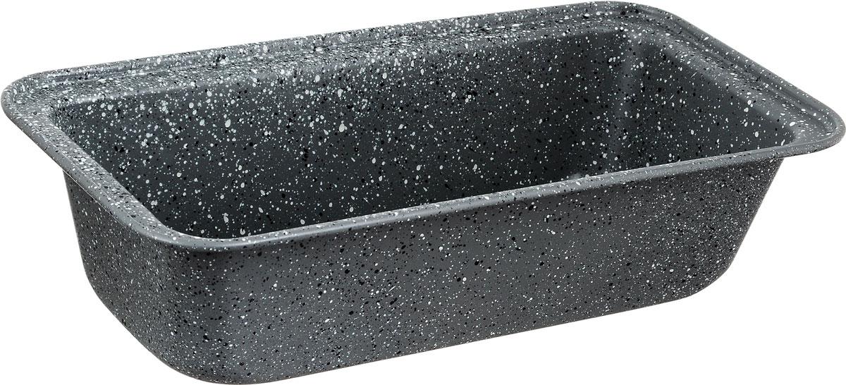 Форма для выпечки хлеба Fissman, прямоугольная, с антипригарным покрытием, 27,5 x 14 x 7 смBW-5592.27Прямоугольная форма для выпечки выполнена из высококачественной углеродистой стали с антипригарным покрытием, что обеспечивает форме прочность и долговечность. Форма равномерно и быстро прогревается, что способствует лучшему пропеканию пищи. Данную форму легко чистить. Готовая выпечка без труда извлекается из нее. Изделие устойчиво к воздействию фруктовых кислот. С помощью формы легко выпекать хлеб, кексы и рулеты. Форма подходит для использования в духовке с максимальной температурой 240°С. Перед каждым использованием форму необходимо смазать небольшим количеством масла. Чтобы избежать повреждений антипригарного покрытия, не используйте металлические или острые кухонные принадлежности. Можно мыть в посудомоечной машине. Высота стенки формы: 7 см.