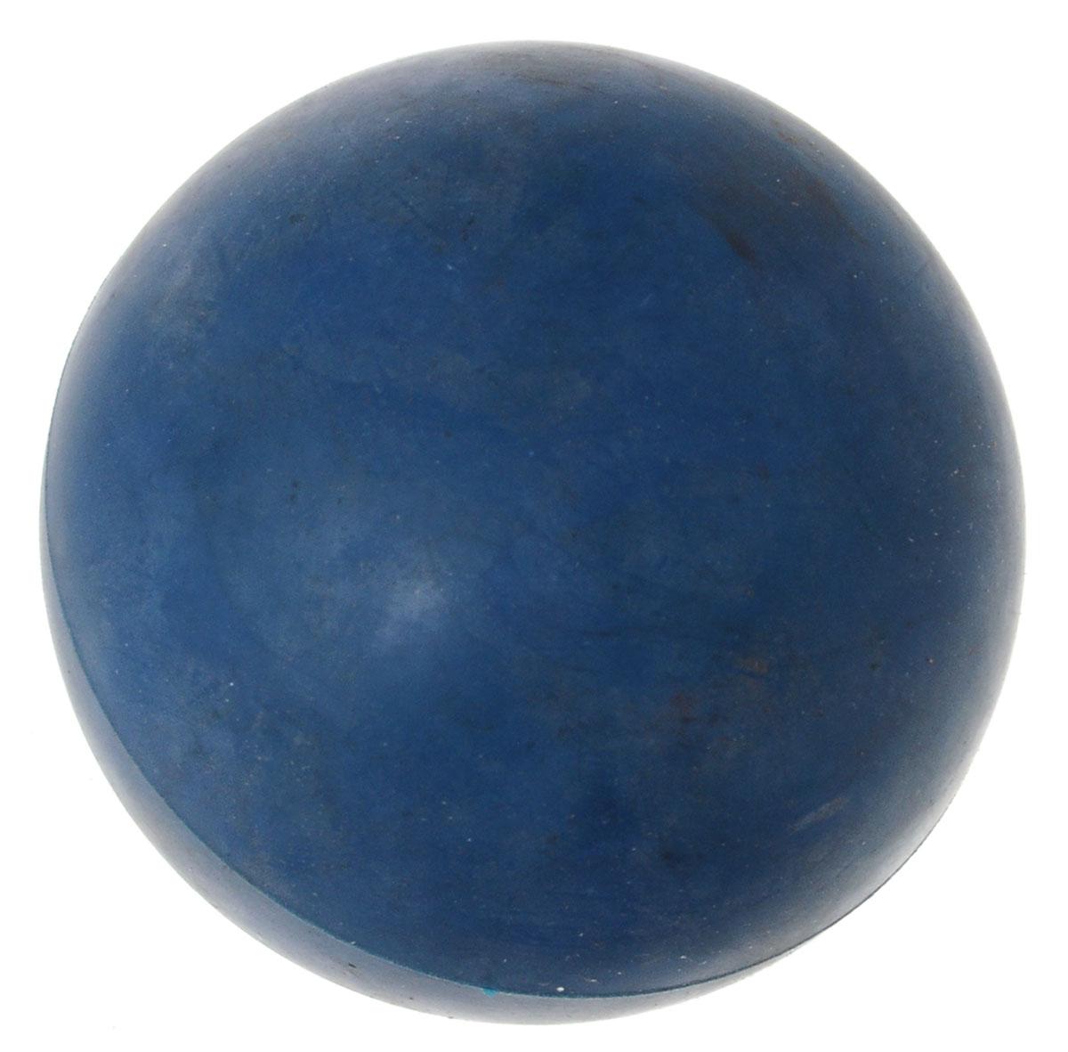 Игрушка для собак ЗооМарк Мячик, цвет: синий, диаметр 6,5 смД-65_синийИгрушка для собак ЗооМарк, изготовленная из высококачественной резины, выполнена в виде мячика. Изделие устойчиво к разгрызанию. Такая игрушка порадует вашего любимца, а вам доставит массу приятных эмоций, ведь наблюдать за игрой всегда интересно и приятно. А в отсутствие людей собака будет ощущать себя комфортно и не портить ваши вещи, стены и мебель. Игрушка не наносит повреждений деснам и зубам собаки, нежно очищая их. Диаметр: 6,5 см.