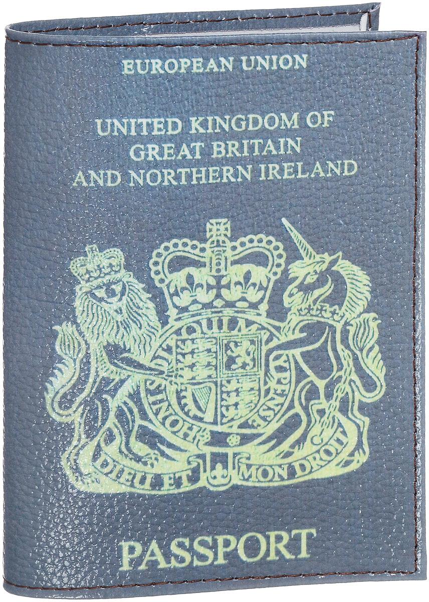 Обложка на паспорт Эврика Британия, цвет: коричневый. 9421794217Обложка для паспорта от Evruka - оригинальный и стильный аксессуар, который придется по душе истинным модникам и поклонникам интересного и необычного дизайна. Качественная обложка выполнена из легкого и прочного ПВХ, который надежно защищает важные документы от пыли и влаги. Рисунок нанесён специальным образом и защищён от стирания. Изделие раскладывается пополам. Внутри размещены два накладных кармашка из прозрачного ПВХ. Простая, но в то же время стильная обложка для паспорта определенно выделит своего обладателя из толпы и непременно поднимет настроение. А яркий современный дизайн, который является основной фишкой данной модели, будет радовать глаз.