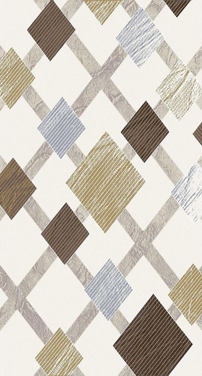 Ковер Mutas Carpet Кармина, цвет: бежевый, 80 х 150 см. 203420130212181261203420130212181261Ворс 100% полипропилен фризе