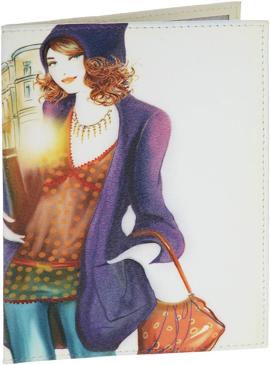 Обложка для паспорта женская Perfecto Арбат, цвет: молочный, мультиколор. PS-GL-100PS-GL-100Обложка для паспорта Perfecto Арбат, выполненная из натуральной кожи, оформлена оригинальным рисунком. Внутри расположены боковые прозрачные карманы из ПВХ для фиксации паспорта. Такая обложка не только поможет сохранить внешний вид ваших документов, но и станет стильным аксессуаром, идеально подходящим вашему образу. Характеристики: Материал: натуральная кожа. Размер: 9,5 см х 13,5 см. Артикул: PS-GL-100. Производитель: Россия.